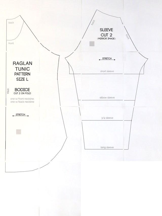 T Shirt Sewing Pattern Long Raglan T Shirt Sewing Pattern Its Always Autumn