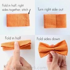 Tie Sewing Pattern Diy Simple Bow Tie Sewing Bow Ties Pinte