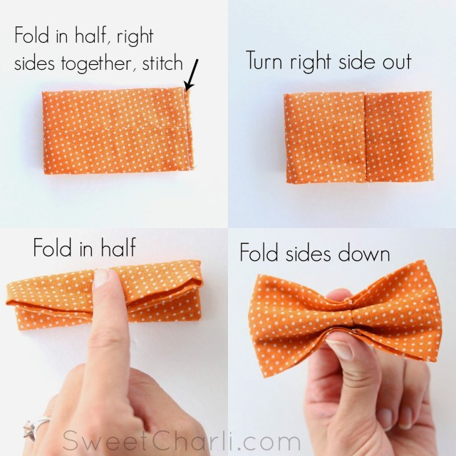 Tie Sewing Pattern Diy Simple Bow Tie Sewing Bow Ties Pinte