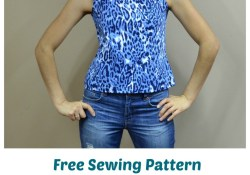 Top Sewing Pattern Free Free Sewing Pattern Pam Top On The Cutting Floor Printable Pdf