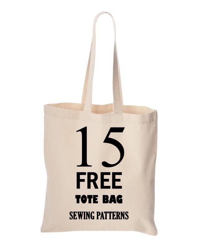 Tote Bag Sewing Pattern 15 Free Tote Bag Sewing Patterns