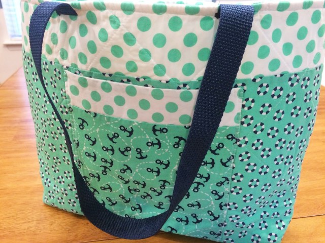 Tote Bag Sewing Pattern Fluffy Puppy Quilt Works Nautical Tote Bag Tutorial