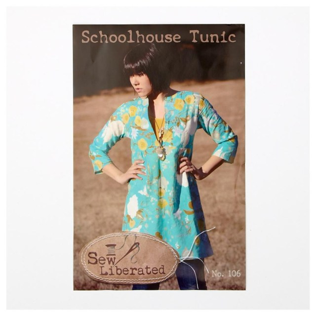 Tunic Sewing Pattern Sew Liberated Schoolhouse Tunic Pattern Discount Designer Fabric