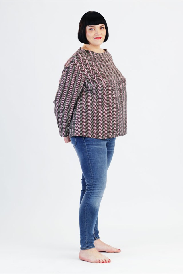 Tunic Sewing Pattern Sewing Pattern For A Plussize Tunic Quickly And Easily Sewn