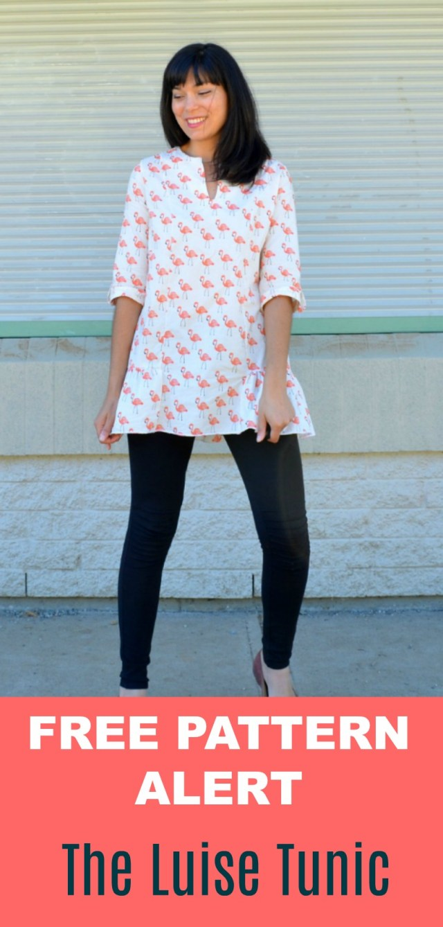 Tunic Sewing Patterns Free Pattern Alert The Luise Tunic Pdf On The Cutting Floor