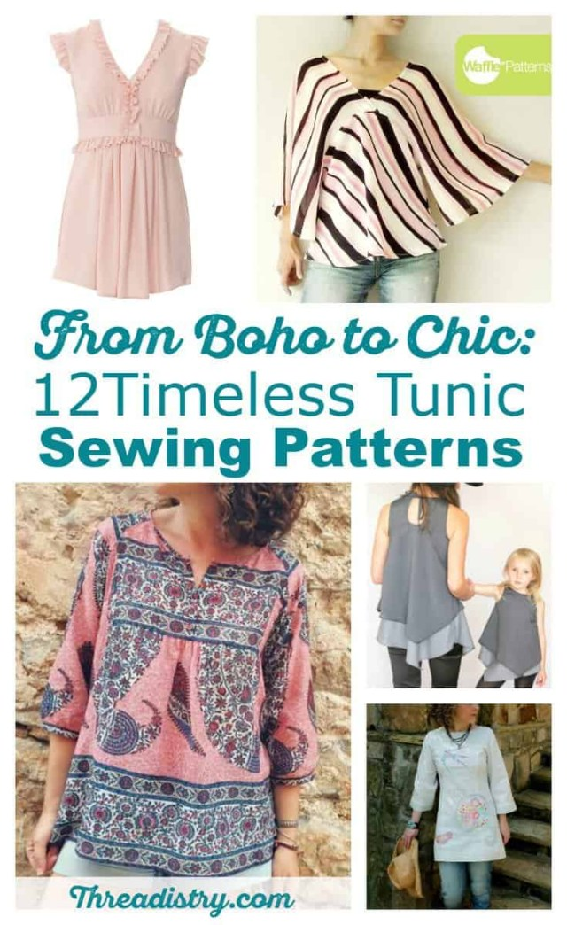 Tunic Sewing Patterns From Boho To Chic 12 Timeless Tunic Sewing Patterns