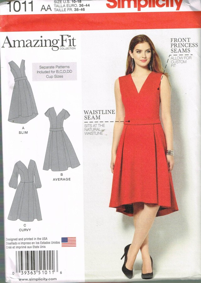 V Neck Dress Sewing Pattern Size 10 18 Misses Dress Sewing Pattern Princess Seam V Etsy