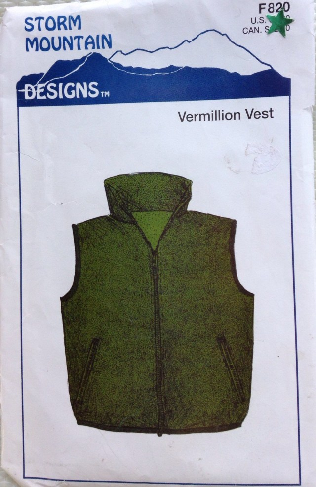 Vest Sewing Pattern Storm Mountain Designs Vermillion Vest Sewing Pattern Etsy
