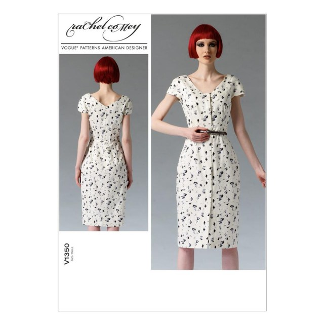 Vogue Sewing Patterns Vogue Missesmisses Petite Dress Pattern V1350 Size A50 Discount
