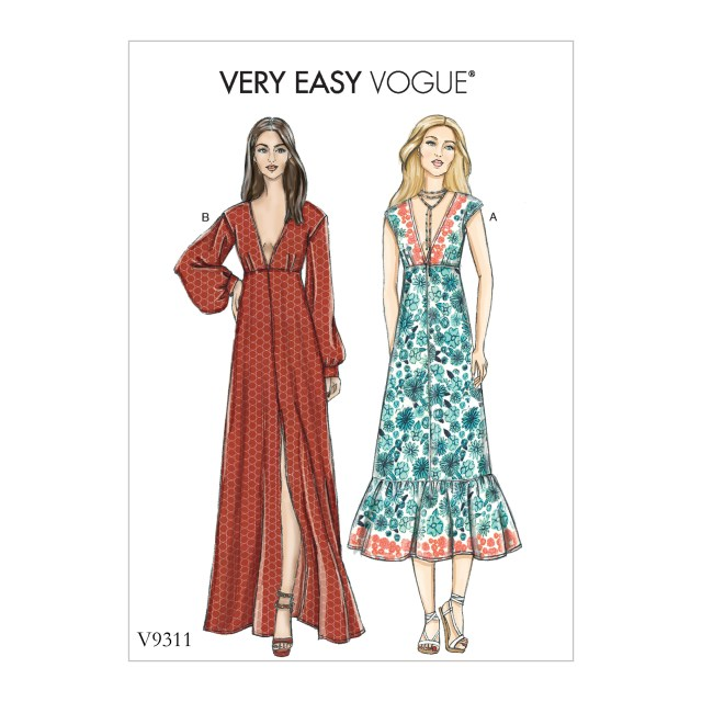 Vogue Sewing Patterns Vogue Patterns 9311 Misses Dress
