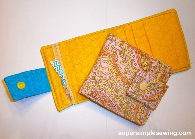 Wallet Sewing Pattern Wallet Free Sewing Pattern And Tutorial