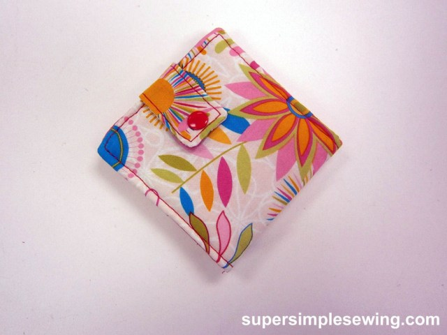 Wallet Sewing Pattern Wallet Sewing Pattern And Tutorial 11 Steps With Pictures