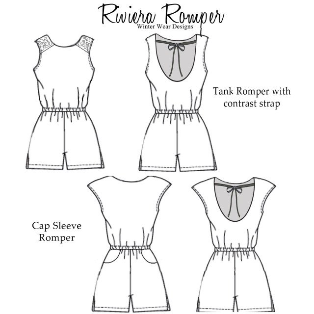 Womens Romper Sewing Pattern Spoonflower Organic Cotton Knit Ultra Fabric Review So Sew Fun