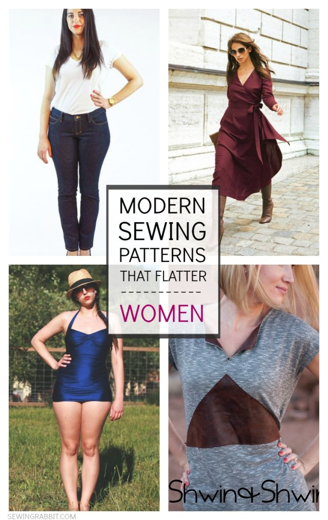 Womens Sewing Patterns 10 Modern Sewing Patterns That Flatter Women The Sewing Rabbit