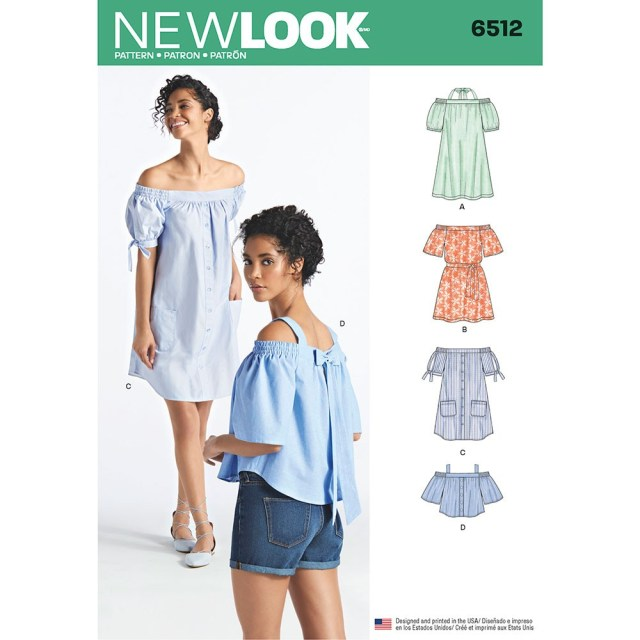 Womens Sewing Patterns Womens Dresses And Tops In Two Lengths With Sleeve Variations New
