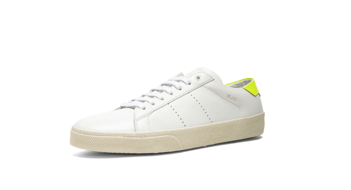 Sneakers in pelle di Saint Laurent Paris Court Classic