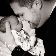 Newborn family session with Beth and Brian