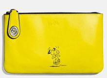 Coach X Peanuts small folio-yellow