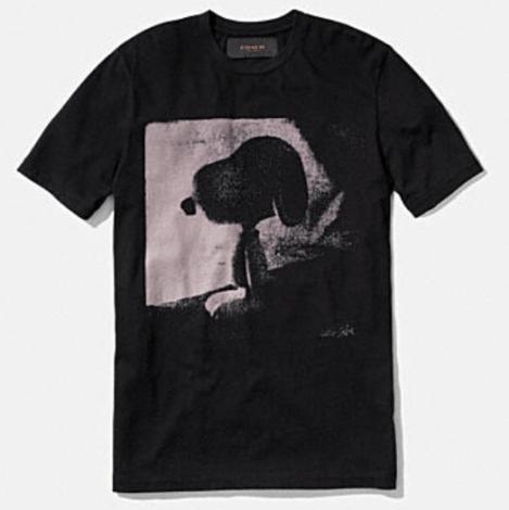 Coach X Peanuts snoopy t-shirt