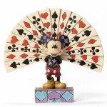 更新!【あみあみ】ディズニー・トラディションズ/ ミッキーマウス with プレイングカード スタチュー