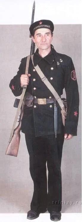 A Red Navy man, 1940-1941