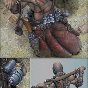 Unmissable Art Issue 4 - Ivan Melnikov - Fallout closeup