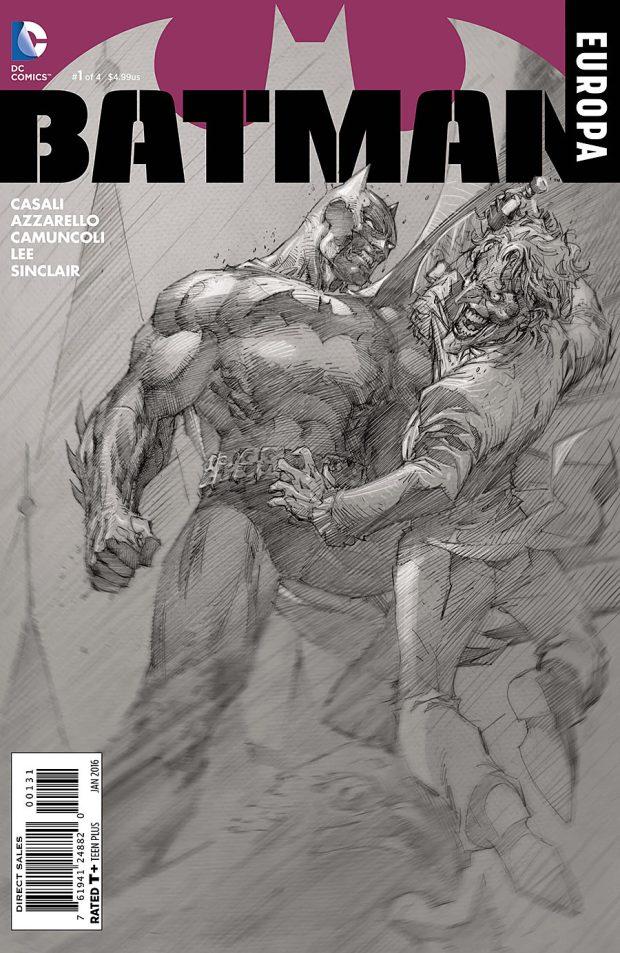Batman Europa 1 Cover