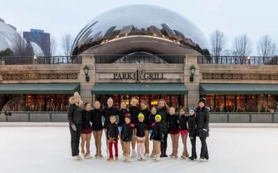 2018 Millennium Park Ice Rink Opening