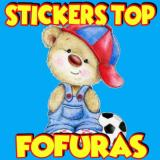 Stickers top fofuras 🐶🦁