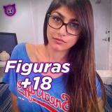 ✘ Figurinhas +18 ✘