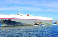 Third Vehicle Carrier Vessel Offloads Second Hand Cars In Three Months