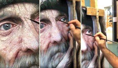 İranlı Ressam Ali Akbar Beigi- Mutlak Gerçekçilik-