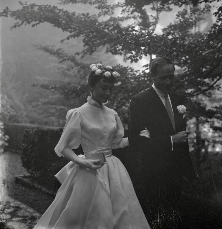 audrey hepburn evliliği