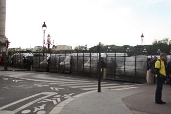 Pont Alexandre-III. Auraient-ils peur ?