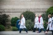 Les infirmières de l'hôpital de Cherbourg arrivent en renfort.