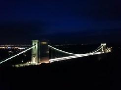 Suspension Bridge at nigth