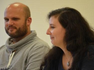 Kai Hird und Madeleine Puljic