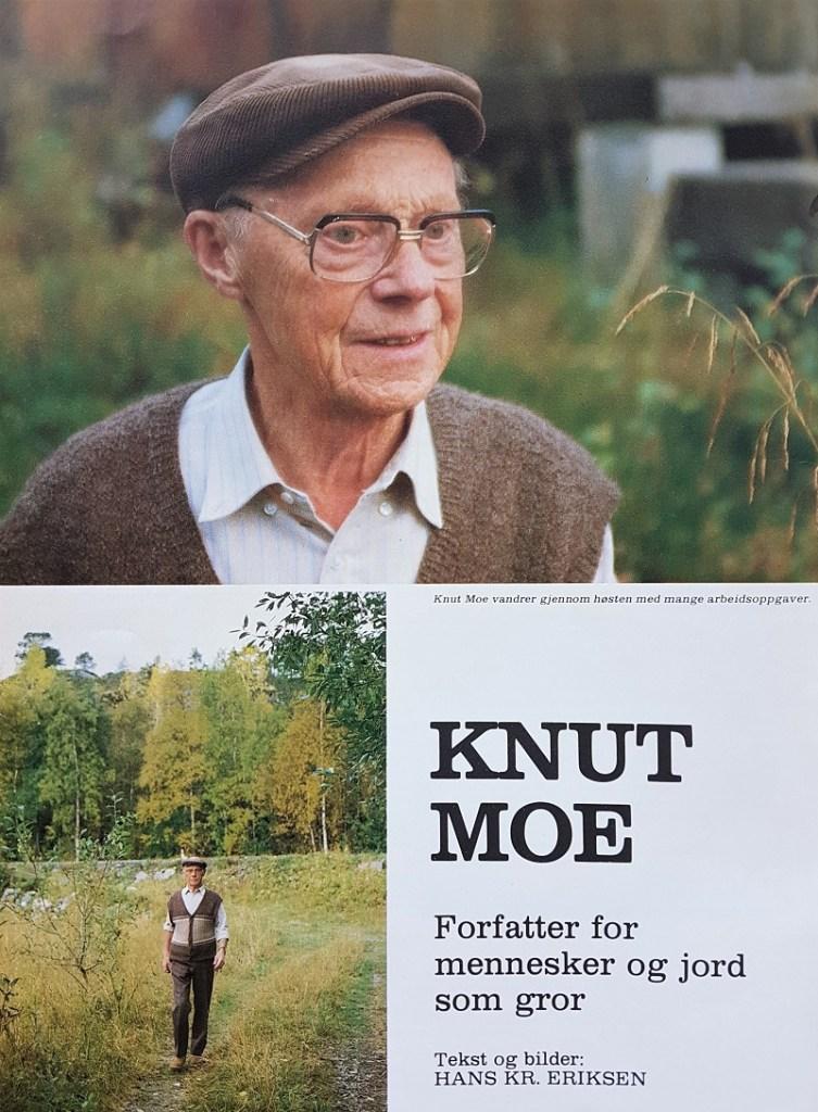 Da forfatteren Knut Moe fylte 75 år, ble han omtalt i Nordnorsk Magasin nummer 2 1984.