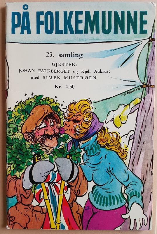 På folkemunne, 23. samling. Humorhefte.