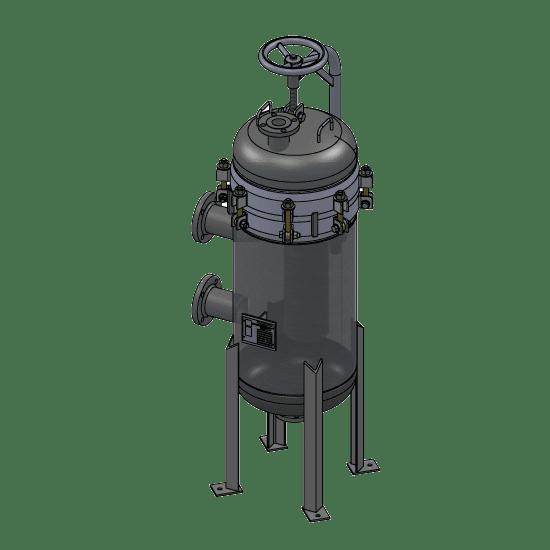 Carbon Steel Sour Service Filter Housing Lp18 312 3f Sr Rp 150