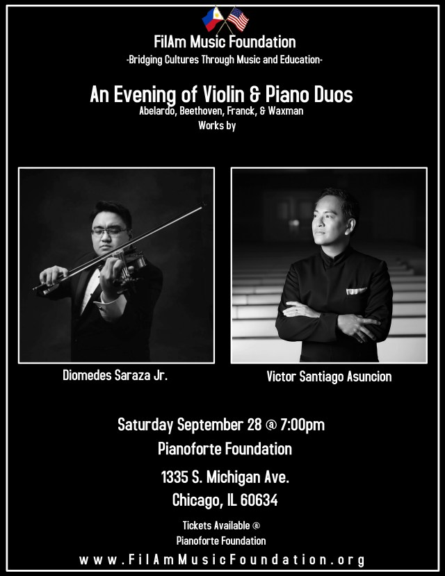 An Evening of Violin Piano Duos