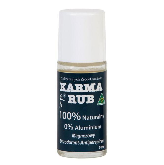 Dezodorant Magnezowy 50ml Karma Rub Naturalny w Kulce