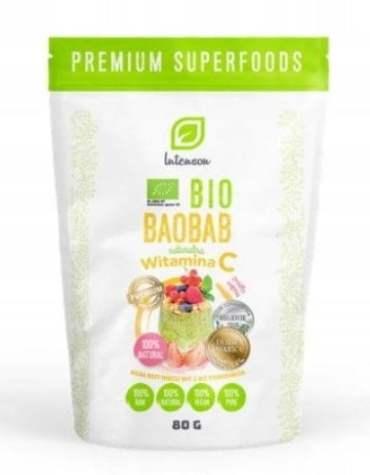 Bio Baobab Proszek 80g Intenson