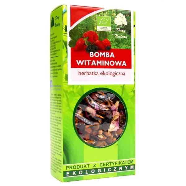 Herbatka Bomba Witaminowa BIO 100g Dary Natury
