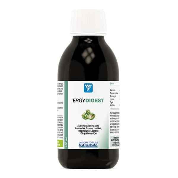 ERGYDIGEST Nutergia 250ml Trawienie, Detoksykacja