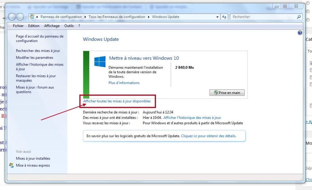 Comment désinstaller la mise à jour Windows 10 ? (2/3)