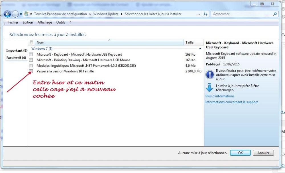 Comment désinstaller la mise à jour Windows 10 ? (3/3)