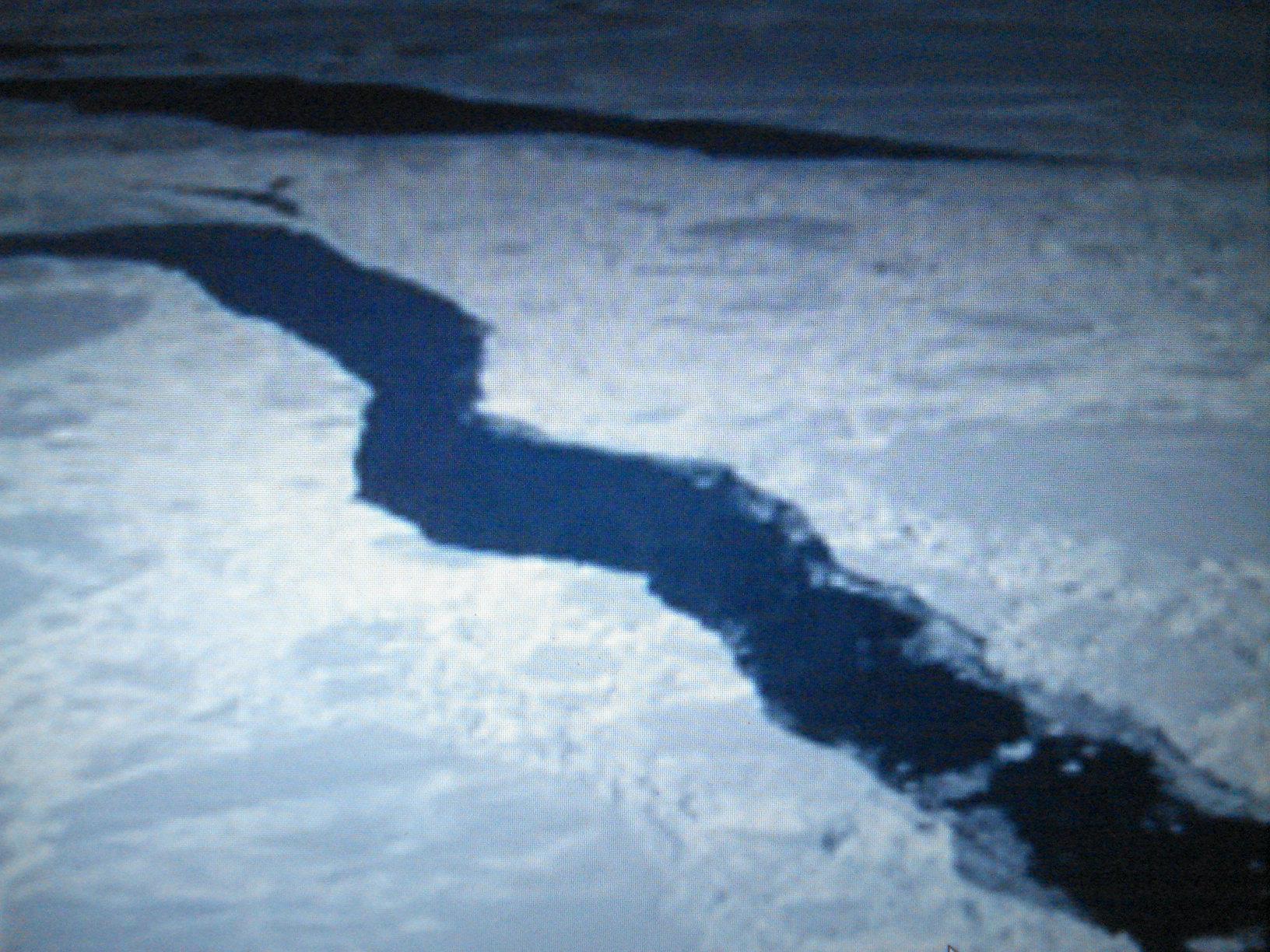 Ruptura del hielo, se abren vallas insalvables.