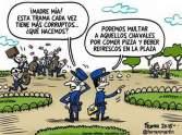 Corrupción en la plaza
