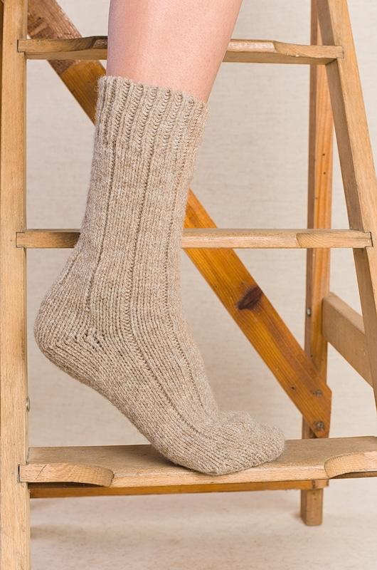chaussettes pure laine vierge